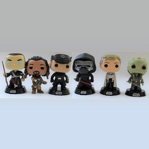 Star Wars Funko Pop Bobblehead Set of 6